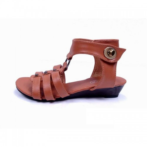 Coach Lock Brown Sandals CPO