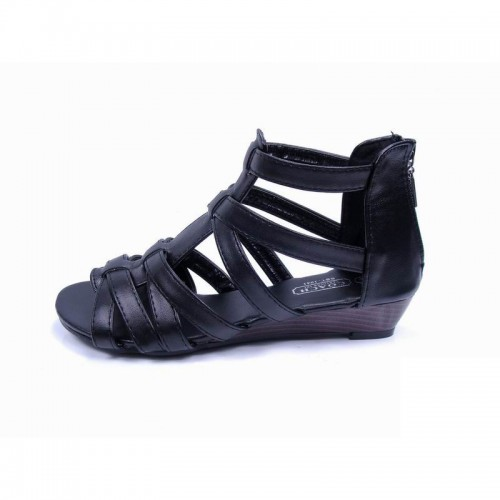 Coach Halsey Strap Black Sandals CPV