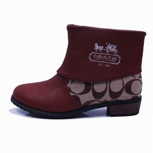 Coach Leoda Signature Coffee Booties CQQ