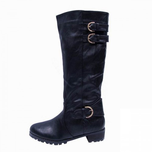 Coach Eleanor Black Boots CQS