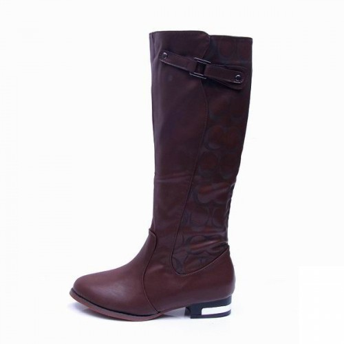 Coach lilac Coffee Boots CRA