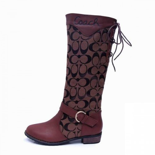 Coach Marni Riding Coffee Boots CRD