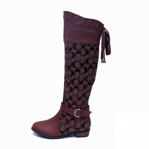 Coach Marni Signature Coffee Boots CRH