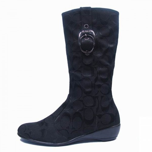 Coach Shellys Black Boots CRO