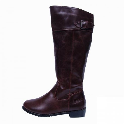 Coach Eleanor Coffee Boots CRS