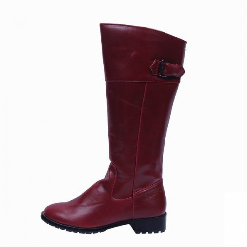 Coach Eleanor Red Boots CRT