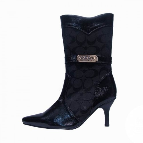 Coach Bethany Black Booties CTC