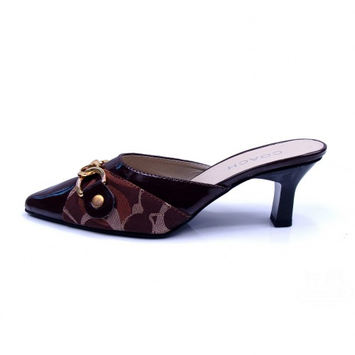 Coach Vanessa Coffee Heels CTM