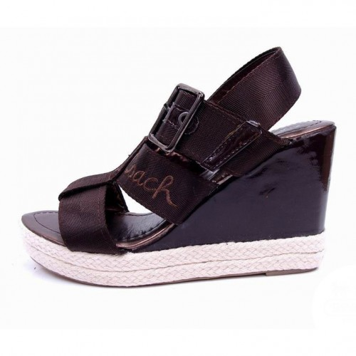 Coach Breeann Coffee Wedges CVM