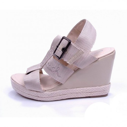 Coach Breeann Pink Wedges CVN
