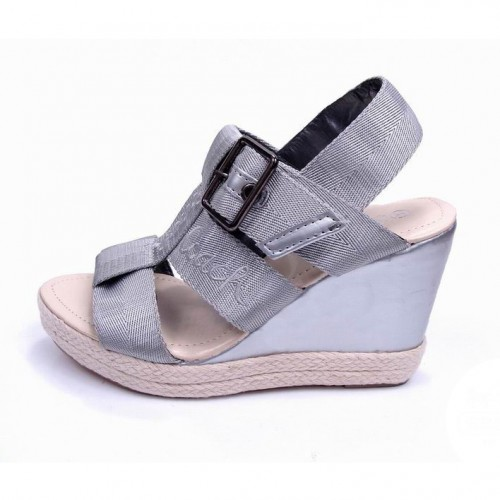 Coach Breeann Grey Wedges CVO