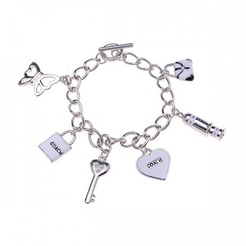 Coach Fashion Charm White Bracelets CVZ