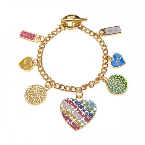 Coach Love Gold Bracelets CXC