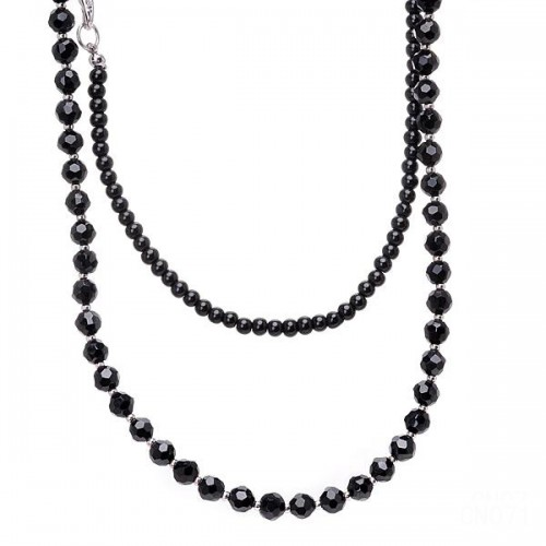 Coach Bead Black Necklaces CZY