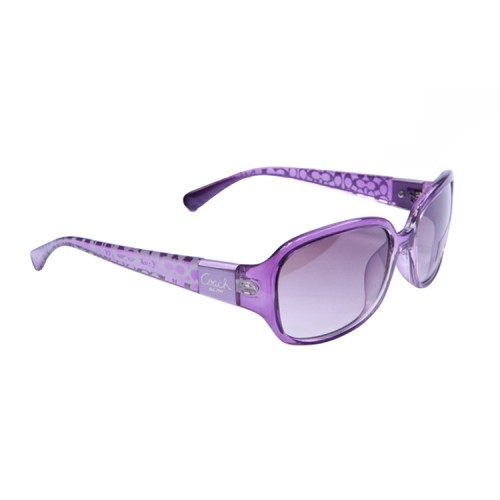 Coach Annette Purple Sunglasses DAR