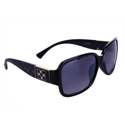 Coach Megan Black Sunglasses DBK