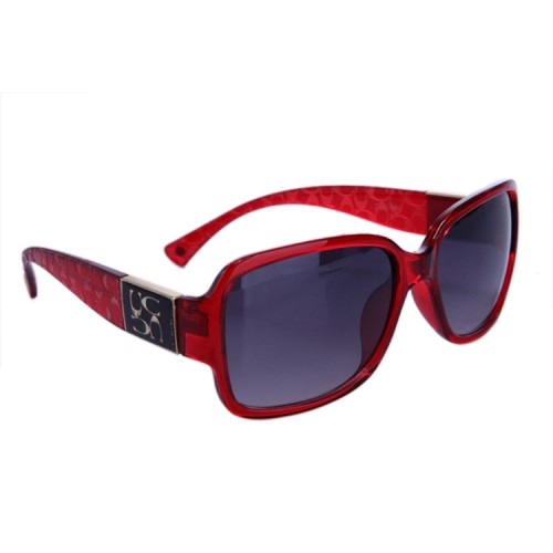 Coach Megan Red Sunglasses DBL
