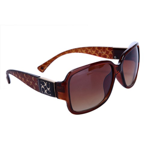 Coach Megan Brown Sunglasses DBM