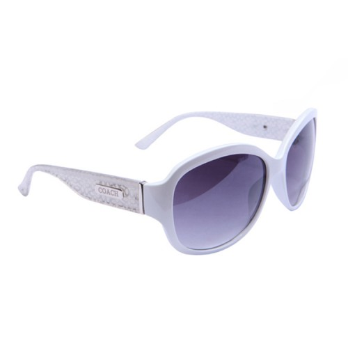 Coach Evita White Sunglasses DCA