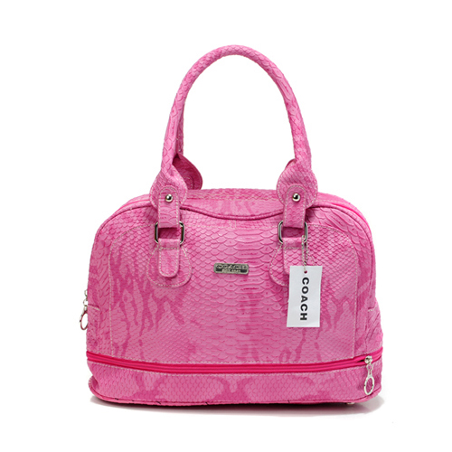 Coach Madison In Embossed Medium Pink Satchels DFH