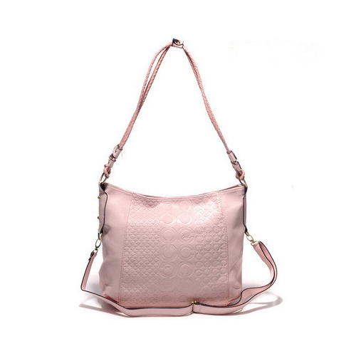 Coach In Monogram Medium Pink Crossbody Bags DGS