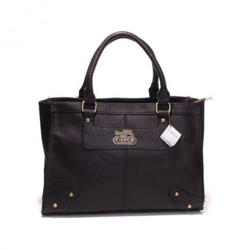 Coach Borough Large Coffee Satchels DGY