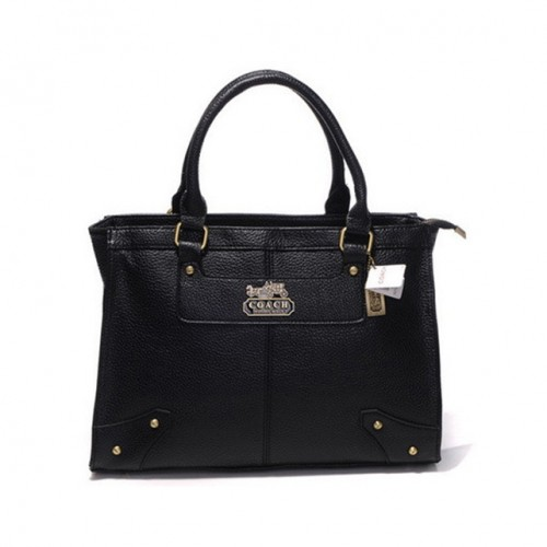 Coach Borough Large Black Satchels DHB