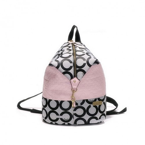 Coach In Monogram Medium Pink Backpacks DHE