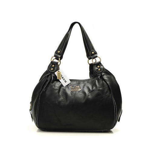 Coach City Medium Black Hobo DHV