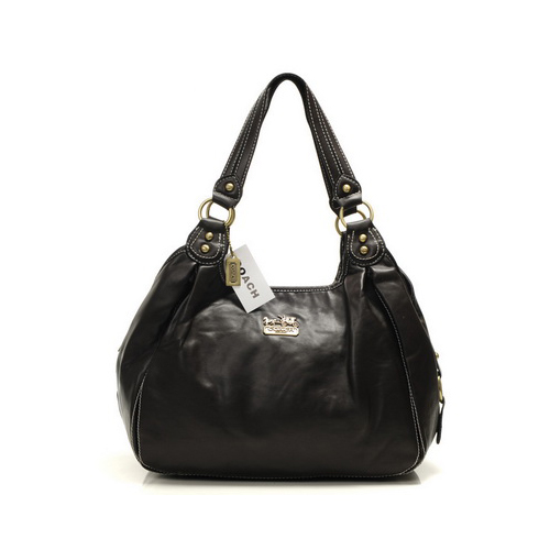 Coach City Medium Coffee Hobo DHW