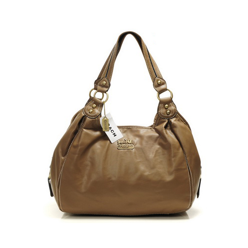 Coach City Medium Brown Hobo DHX