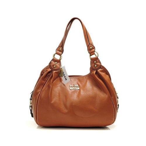 Coach City Medium Tan Hobo DHY