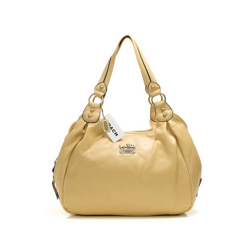 Coach City Medium Ivory Hobo DHZ