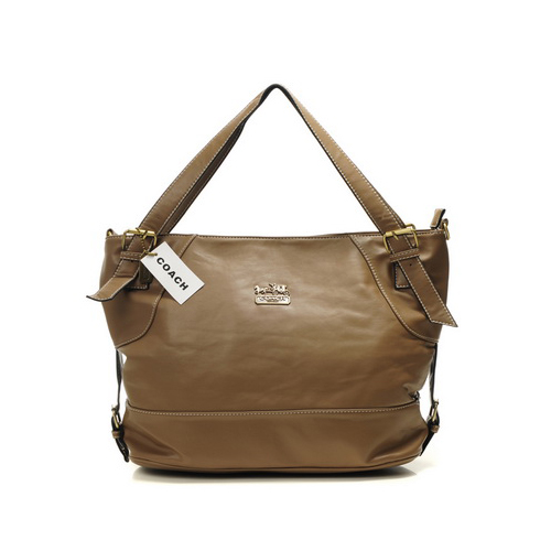 Coach City Medium Brown Totes DIC