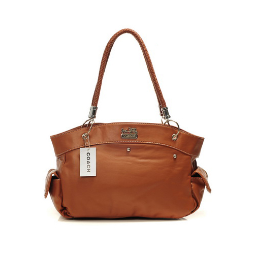 Coach Stud City Medium Tan Totes DIS