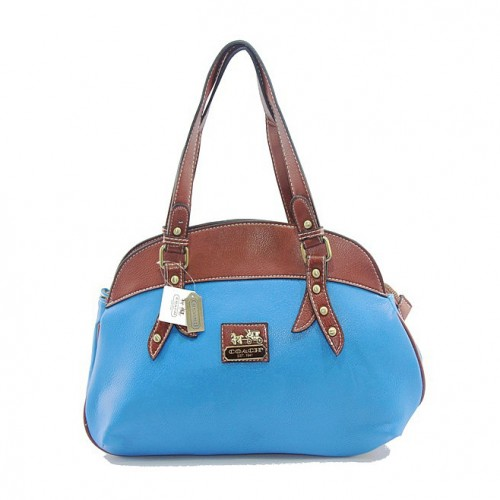 Coach Bleecker Bistro Large Blue Madison DIW