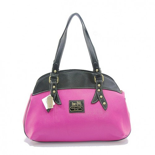 Coach Bleecker Bistro Large Fuchsia Madison DIX