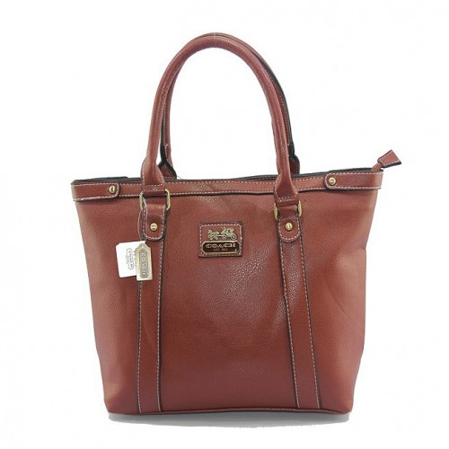 Coach North South Medium Brown Totes DJA