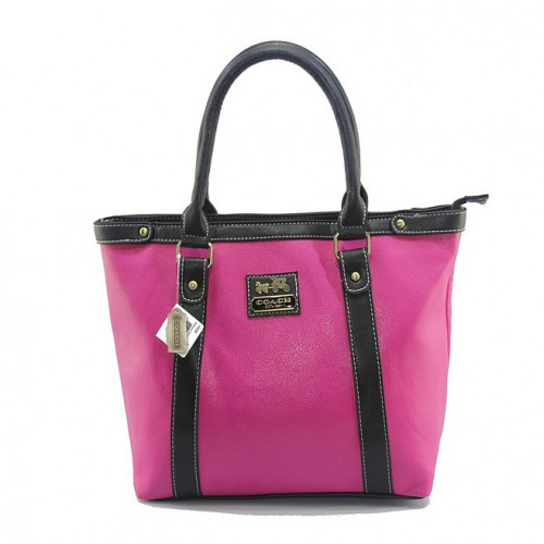Coach North South Medium Fuchsia Totes DJC