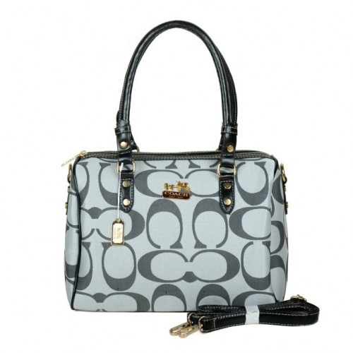 Coach Madison Logo Medium Grey Luggage Bags DKH