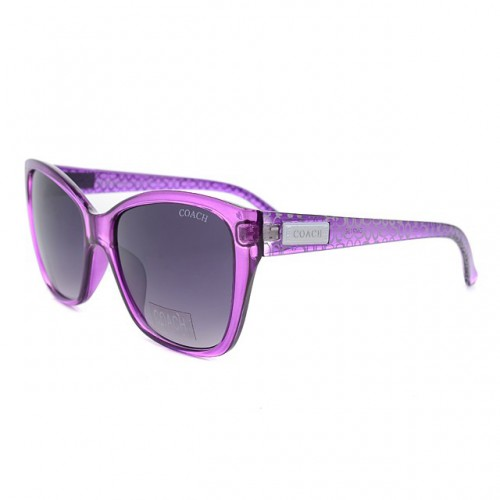 Coach Vanessa Purple Sunglasses DKX