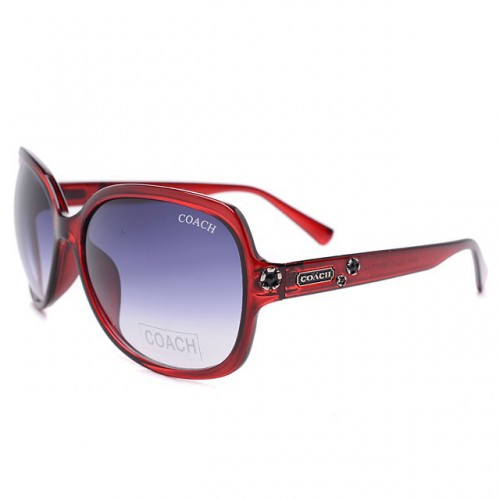 Coach Samantha Red Sunglasses DLF