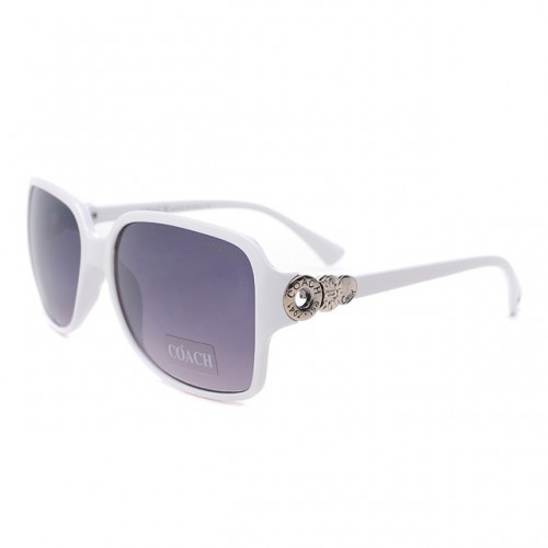 Coach Natasha White Sunglasses DLJ