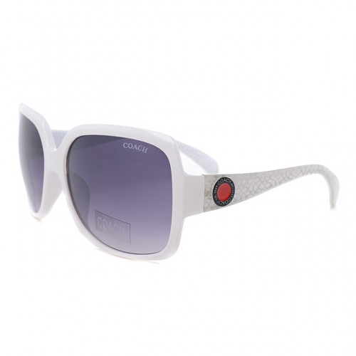 Coach Isis White Sunglasses DLO