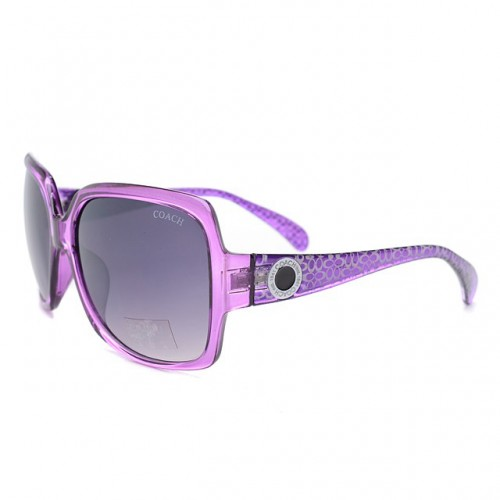 Coach Isis Purple Sunglasses DLS