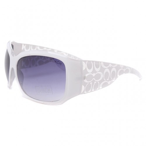 Coach Daylan White Sunglasses DLW