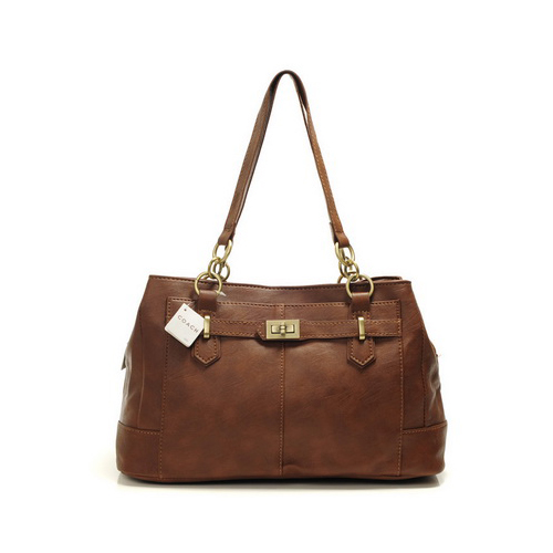 Coach Bleecker Cooper Large Coffee Satchels DMO