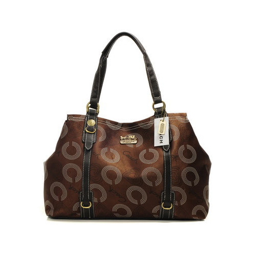 Coach Waverly Logo Large Coffee Totes DMY