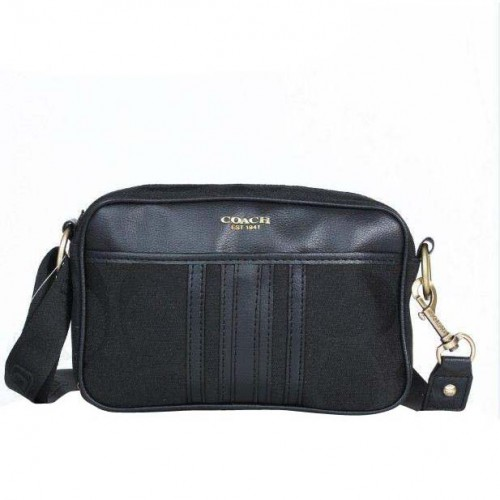 Coach Monogram Small Black Crossbody Bags DPL