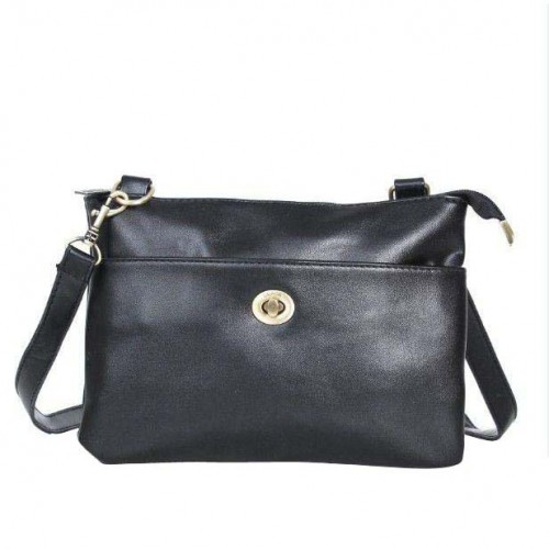Coach Madison Swingpack Small Black Crossbody Bags DPR